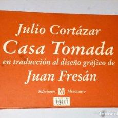 Libros de segunda mano: CASA TOMADA EN TRADUCCIÓN AL DISEÑO GRÁFICO DE JUAN FRESÁN. Lote 103810355
