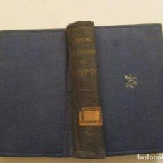 Libros de segunda mano: UNIVERSIDAD DE OXFORD. EL LEGADO DE EGIPTO. RMT84459. . Lote 103818511