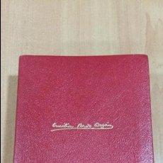 Libri di seconda mano: OBRAS COMPLETAS. EMILIA PARDO BAZAN. EDIT AGUILAR. TOMO I, NOVELAS Y CUENTOS. W RESERVADO. Lote 103818891