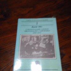 Libros de segunda mano: REXIONALISMO GALEGO, : ORGANIZACION E IDEOLOXIA (1886-1907) .RAMON MAIZ.. Lote 103843807