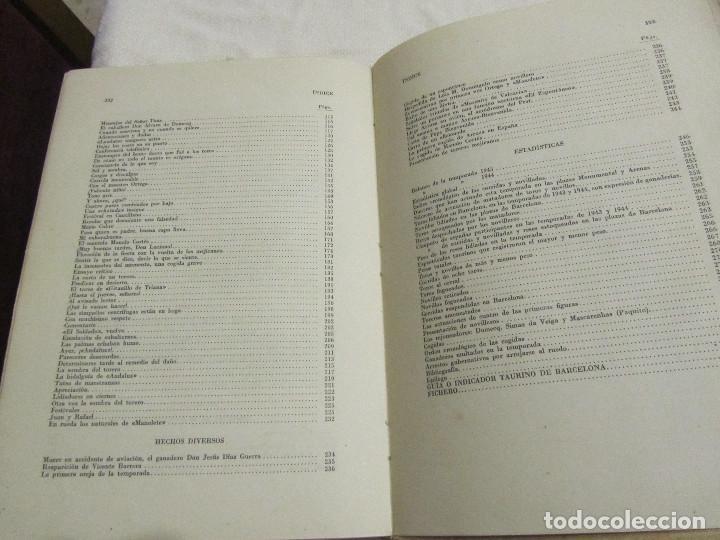 Libros de segunda mano: TOROS EN BARCELONA RAFAEL LOPEZ CHACON EDITORIAL BORRAS 1946 - Foto 3 - 103870203