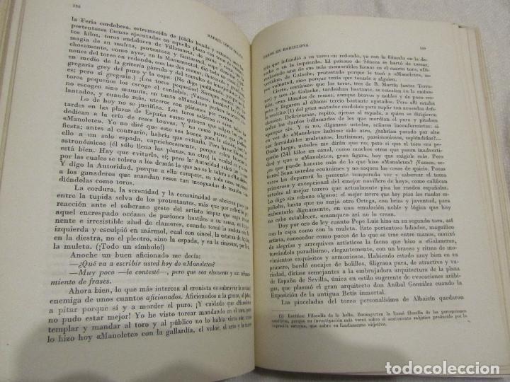 Libros de segunda mano: TOROS EN BARCELONA RAFAEL LOPEZ CHACON EDITORIAL BORRAS 1946 - Foto 9 - 103870203