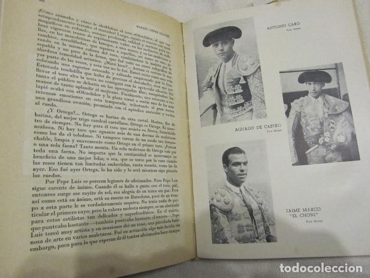 Libros de segunda mano: TOROS EN BARCELONA RAFAEL LOPEZ CHACON EDITORIAL BORRAS 1946 - Foto 12 - 103870203