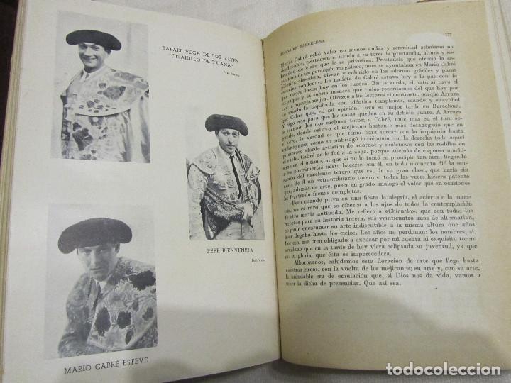 Libros de segunda mano: TOROS EN BARCELONA RAFAEL LOPEZ CHACON EDITORIAL BORRAS 1946 - Foto 13 - 103870203
