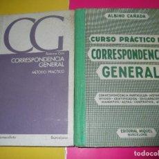 Libros de segunda mano - dos libros de CORRESPONDENCIA GENERAL - 103918563
