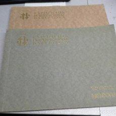 Libros de segunda mano: EXPOSICIÓN INTERNACIONAL BARCELONA MCMXXIX 1929 PUEBLO ESPAÑOL / 2 TOMOS. Lote 103967607