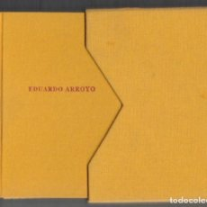 Libros de segunda mano: EDUARDO ARROYO LECCIONES DE MORAL Y RELIGIÓN CELESTE EDICIONES NUMERADO Y FIRMADO A LÁPIZ 613 / 1000. Lote 103982803