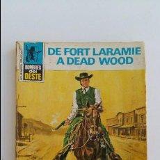 Libros de segunda mano: HOMBRES DEL OESTE. MARCIAL LAFUENTE ESTEFANIA. DE FORT LARAMIE A DEAD WOOD. 1975. Lote 104010615