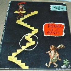Libros de segunda mano: MINGOTE HISTORIA DE LA GENTE- MADRID, TAURUS, 1955. 1ª EDICIÓN VER FOTOS, REGALO LIBRETA DE MINGOTE. Lote 104039359