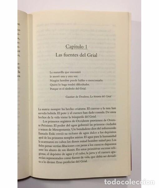 Libros de segunda mano: EL DESCUBRIMIENTO DEL GRIAL. LA VERDADERA HISTORIA - Foto 3 - 104050227