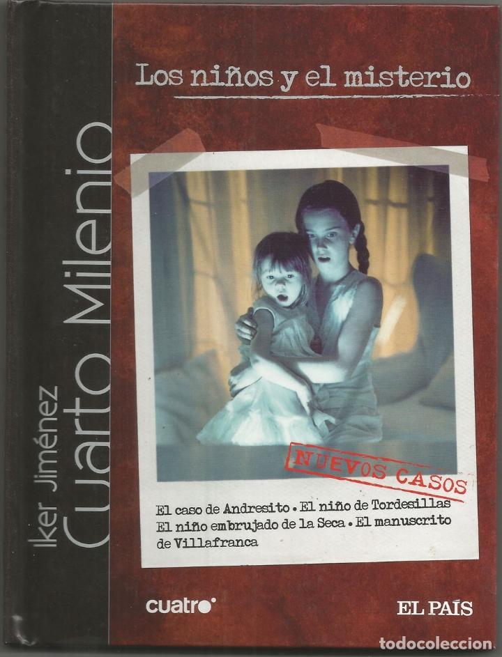 CUARTO MILENIO – LOS NIÑOS Y EL MISTERIO – IKER JIMENEZ – DVD - DIARIO EL PAIS – 2007 (Libros de Segunda Mano - Ciencias, Manuales y Oficios - Otros)
