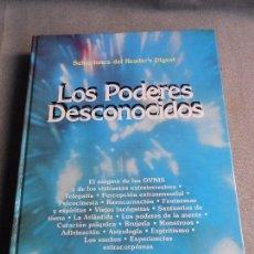 Libros de segunda mano: LOS PODERES DESCONOCIDOS. Lote 104066499