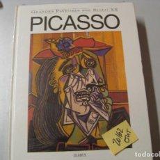 Libros de segunda mano: PICASSOGRANDES PINTORES DEL SIGLO XXGLOBUS GRAN FORMATO5,60. Lote 104098147