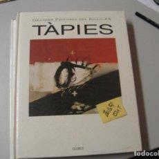 Libros de segunda mano: TAPIESGRANDES PINTORES DEL SIGLO XXGLOBUS GRAN FORMATO5,90. Lote 104098267