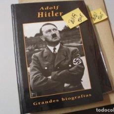 Libros de segunda mano: ADOLF HITLERGRANDES BIOGRAFIAS EDICIONES RUEDA TAPA DURA NUEVO2,00. Lote 104098731