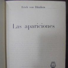 Libros de segunda mano: LAS APARICIONES. ERICH VON DANIKEN. 1975. EDICIONES MARTINEZ ROCA. Lote 104137855