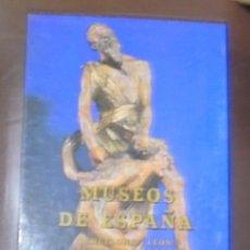 Libros de segunda mano: MUSEOS DE ESPAÑA. BARCELONA / LEON / VALLADOLID / CUENCA. EDITORAL EVEREST. 1994. Lote 104152195