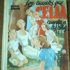 Libros de segunda mano: LOS CUENTOS QUE CELIA CUENTA A LAS NIÑAS-AGUILAR 1961-TAPA DURA- LECTURAS JUVENILES Nº 18-. Lote 104165543