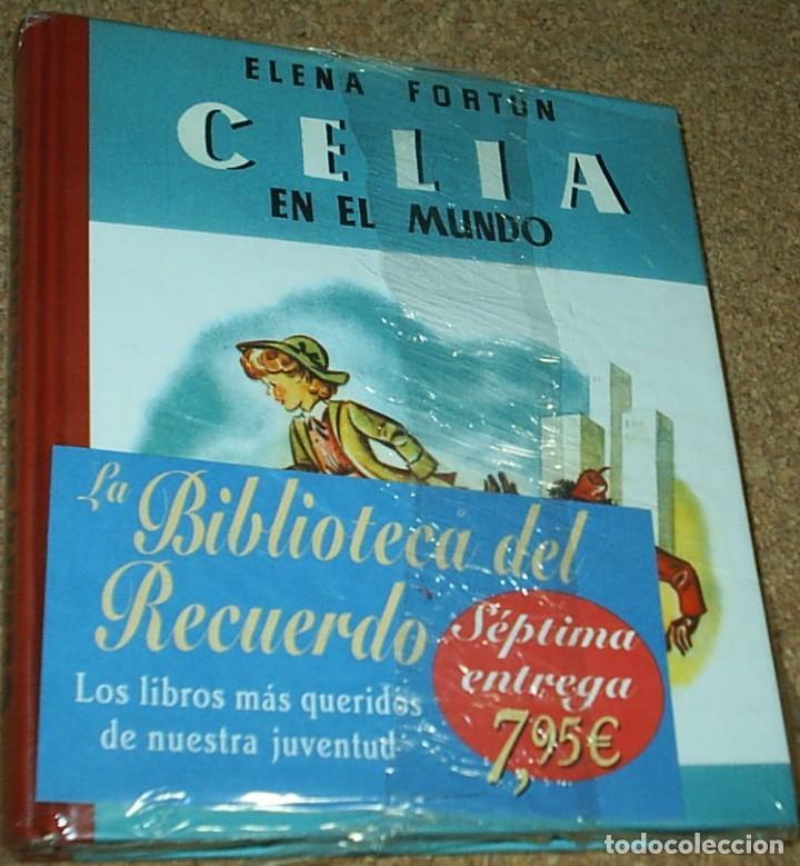 CELIA EN EL MUNDO-AGUILAR TAPA DURA- BIBLIOTECA DEL RECUERDO - PRECINTADO DE ORIGEN- (Libros de Segunda Mano - Literatura Infantil y Juvenil - Otros)