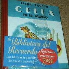 Libros de segunda mano: CELIA EN EL MUNDO-AGUILAR TAPA DURA- BIBLIOTECA DEL RECUERDO - PRECINTADO DE ORIGEN-. Lote 104254215