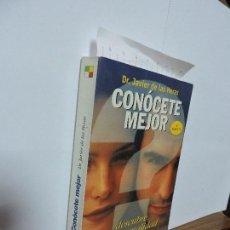 Libros de segunda mano: CONÓCETE MEJOR. DE LAS HERAS, JAVIER. COL. ESPASA PRÁCTICO, 9. ED. ESPASA. MADRID 1998. 4ª EDICIÓN. Lote 104260863