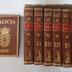 Libros de segunda mano: VV.AA. GALICIA. ARTE. SIETE TOMOS. RMT84539. . Lote 104281983