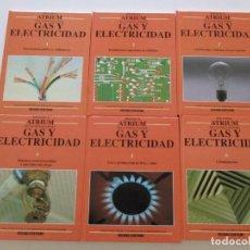 Libros de segunda mano: BIBLIOTECA ATRIUM DE LAS INSTALACIONES. GAS Y ELECTRICIDAD. SEIS TOMOS. RMT84552. . Lote 104282979