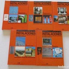 Libros de segunda mano: INSTALACIONES DOMÉSTICAS E INDUSTRIALES. IDEAS PRÁCTICAS. CINCO TOMOS. RMT84554. . Lote 104283159