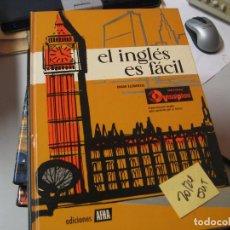 Libros de segunda mano: EL INGLES ES FACIL . GRADO ELEMENTALEDICIONES AFHA PORTES 8€5,40. Lote 104302715