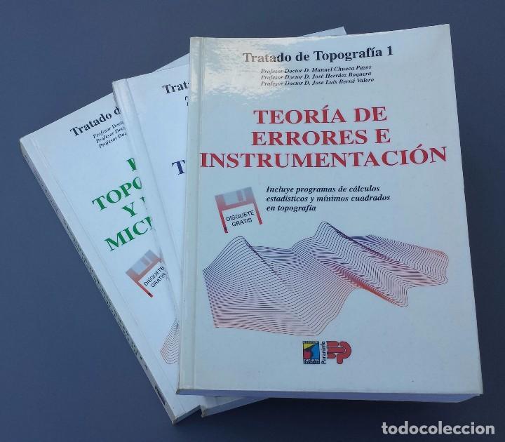 Tratado de topograf a tomos 1 2 y 3 comprar en todocoleccion 104309131 - Libreria segunda mano online ...