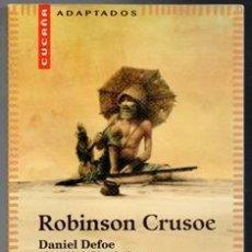 Libros de segunda mano: ROBINSON CRUSOE, DANIEL DEFOE.. Lote 104352003