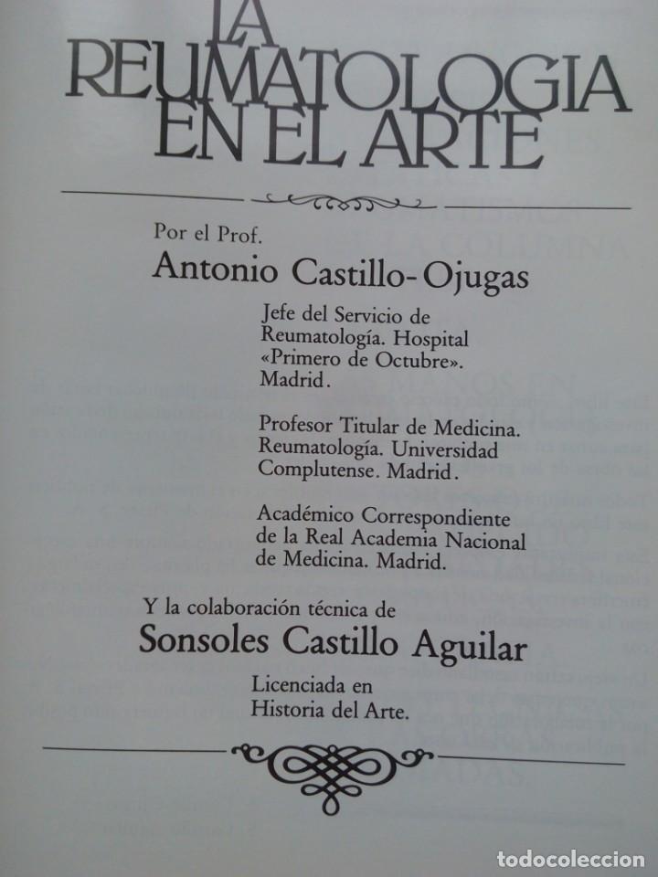 Libros de segunda mano: LA REUMATOLOGIA EN EL ARTE 35 CMS 1100 GRS 106 PGS MUY ILUSTRADO - Foto 6 - 104356227