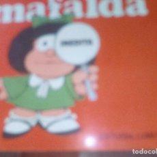 Libros de segunda mano: MAFALDA INÉDITA. QUINO. EDITORIAL LUMEN. Lote 104371727