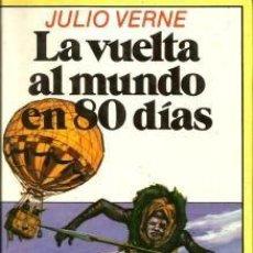 Libros de segunda mano: LA VUELTA AL MUNDO EN 80 DÍAS – JULIO VERNE- EDITORIAL BRUGUERA. Lote 104390599