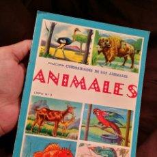 Libros de segunda mano: COLECCION CURIOSIDADES DE LOS ANIMALES - ANIMALES LIBRO Nº 3 - ED.FHER. Lote 104391087