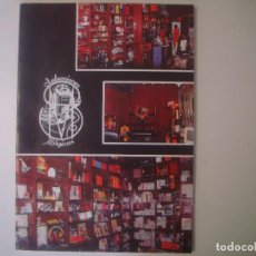 Libros de segunda mano: LIBRERIA GHOTICA. SELECCIONES MAGICAS. 1991. FOLIO. MUY ILUSTRADO. CURIOSO CATALOGO DE MAGIA.. Lote 104440867