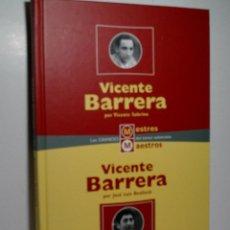 Libros de segunda mano: VICENTE BARRERA. VICENTE BARRERA. SOBRINO VICENTE, BENLLOCH JOSÉ LUÍS. 1998. Lote 104446495