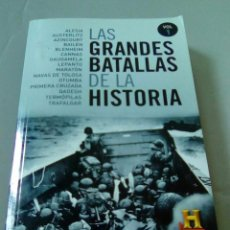 Libros de segunda mano: LAS GRANDES BATALLAS DE LA HISTORIA. VOLUMEN 1. Lote 104542871