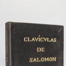 Libros de segunda mano: CLAVICULAS DE SALOMON. 1641. Lote 115409299