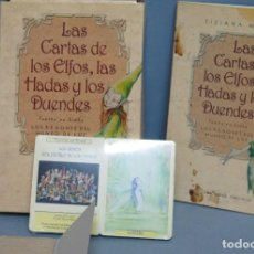 Libros de segunda mano: LAS CARTAS DE LOS ELFOS LAS HADAS Y LOS DUENDES. Lote 136921821