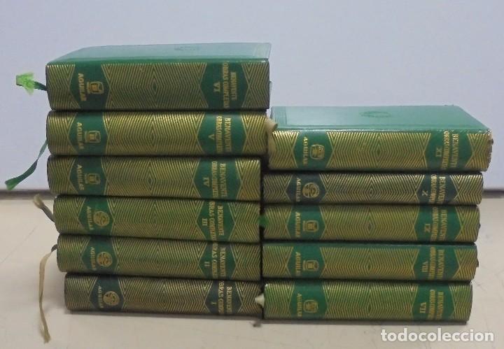 OBRAS COMPLETAS. JACINTO BENAVENTE. 11 TOMOS. EDITORIAL AGUILAR. 1956. VER CANTOS. (Libros de Segunda Mano (posteriores a 1936) - Literatura - Otros)