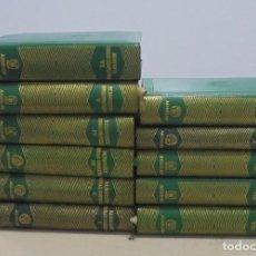 Libros de segunda mano: OBRAS COMPLETAS. JACINTO BENAVENTE. 11 TOMOS. EDITORIAL AGUILAR. 1956. VER CANTOS.. Lote 153653568