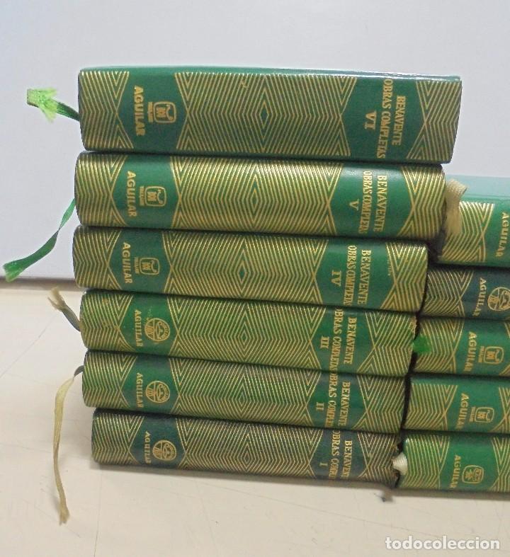 Libros de segunda mano: OBRAS COMPLETAS. JACINTO BENAVENTE. 11 TOMOS. EDITORIAL AGUILAR. 1956. VER CANTOS. - Foto 2 - 153653568