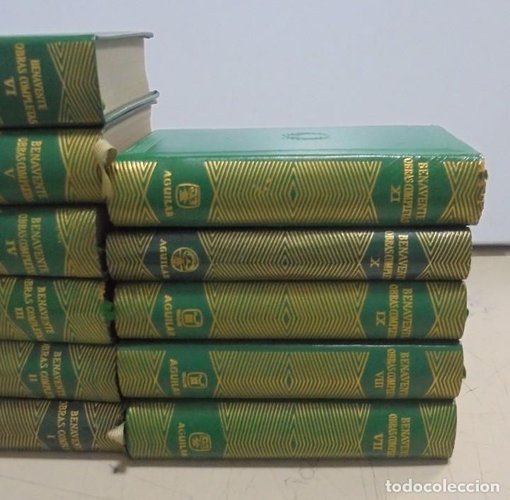 Libros de segunda mano: OBRAS COMPLETAS. JACINTO BENAVENTE. 11 TOMOS. EDITORIAL AGUILAR. 1956. VER CANTOS. - Foto 3 - 153653568