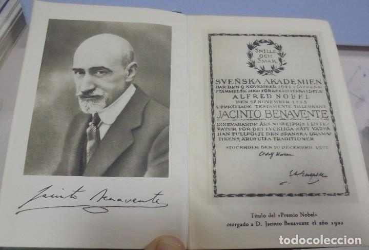 Libros de segunda mano: OBRAS COMPLETAS. JACINTO BENAVENTE. 11 TOMOS. EDITORIAL AGUILAR. 1956. VER CANTOS. - Foto 4 - 153653568