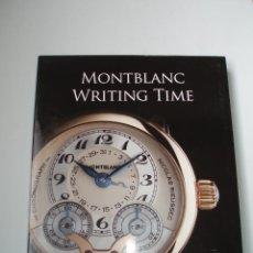 Libros de segunda mano: LIBRO MONTBLAC WRITING TIME FRANCO COLIGNI - GIBSERT BRUNNER COMO NUEVO . Lote 104617223