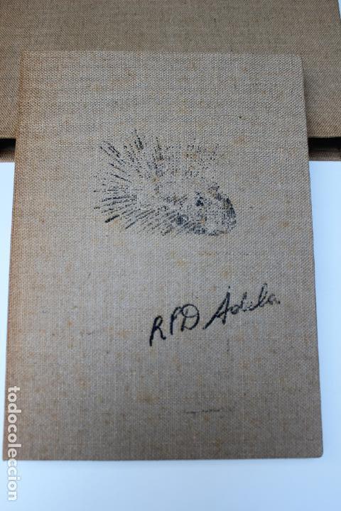 ALICE IN WONDERLAND. LEWIS CARROL. R.P.D ADELA. JOSEP CARNER. MARIÀ MANENT 1985. LIBRO ARTISTA ÚNICO (Libros de Segunda Mano - Bellas artes, ocio y coleccionismo - Otros)