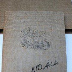 Libros de segunda mano: ALICE IN WONDERLAND. LEWIS CARROL. R.P.D ADELA. JOSEP CARNER. MARIÀ MANENT 1985. LIBRO ARTISTA ÚNICO. Lote 104663355