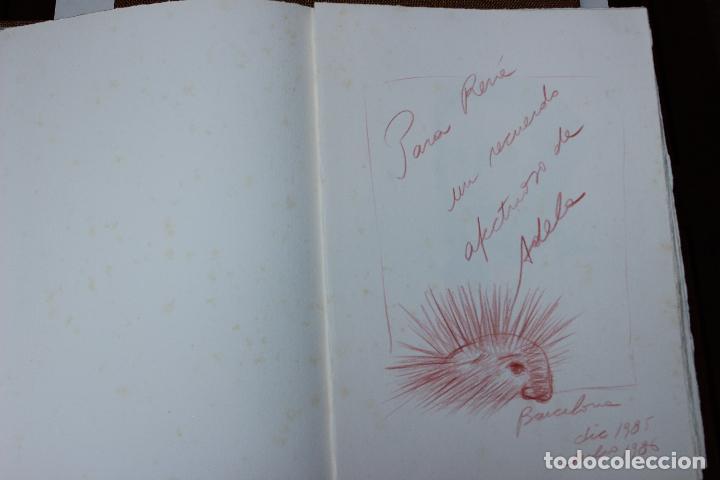 Libros de segunda mano: Alice in Wonderland. Lewis Carrol. R.P.D ADELA. Josep Carner. Marià Manent 1985. Libro artista único - Foto 5 - 104663355