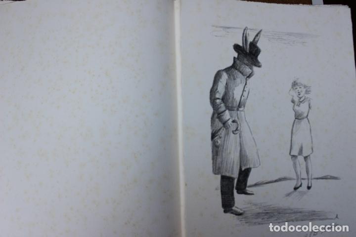 Libros de segunda mano: Alice in Wonderland. Lewis Carrol. R.P.D ADELA. Josep Carner. Marià Manent 1985. Libro artista único - Foto 6 - 104663355